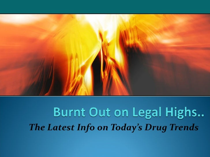 The Latest Info on Today's Drug Trends