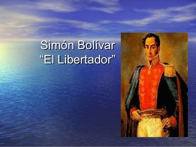 Bolivar simon