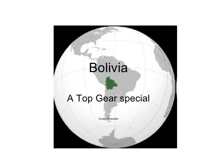 Bolivia Top Gear