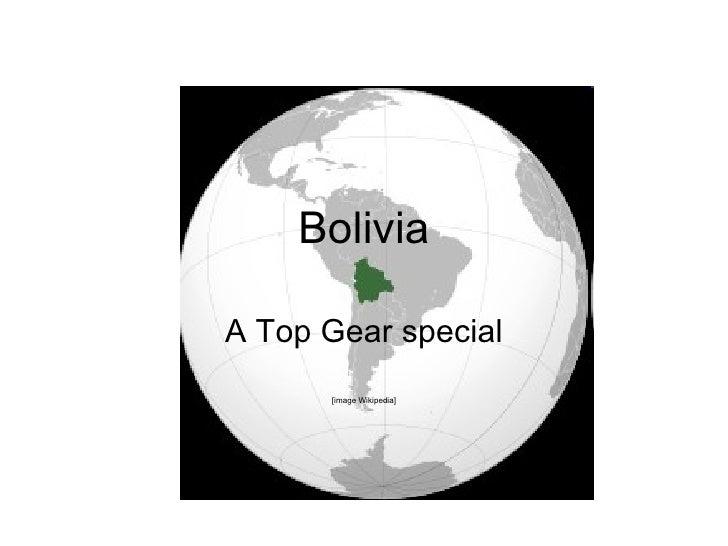 Bolivia Top Gear