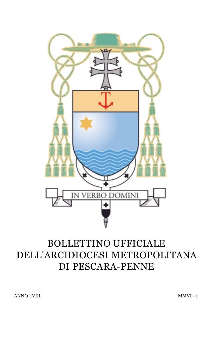 Bollettino (I/2006)