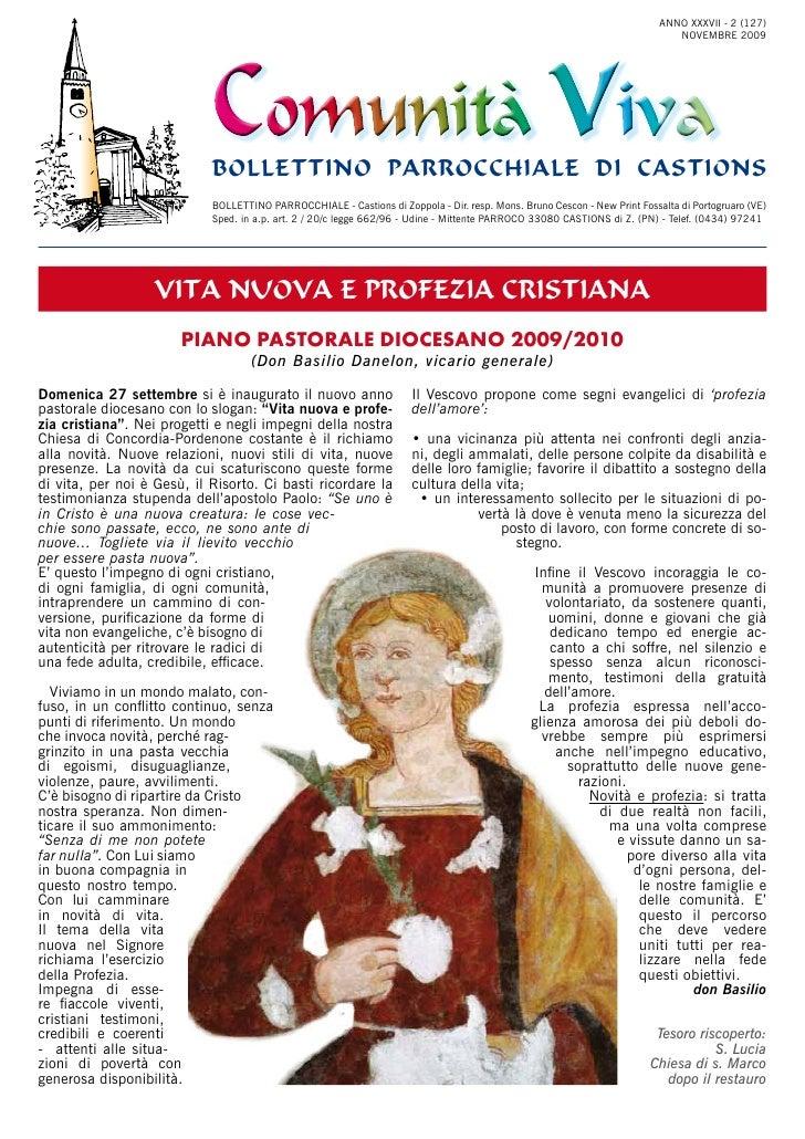 Comunità Viva Nov 2009