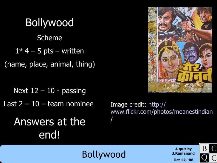 Balls, Ballots, Bollywood - Bollywood section