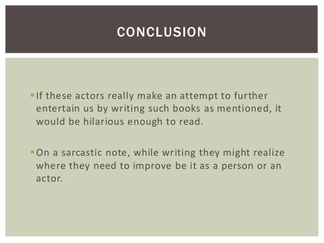 How do you write an Author's Note?