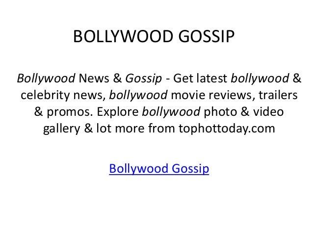 BOLLYWOOD GOSSIPBollywood News & Gossip - Get latest bollywood & celebrity news, bollywood movie reviews, trailers   & pro...