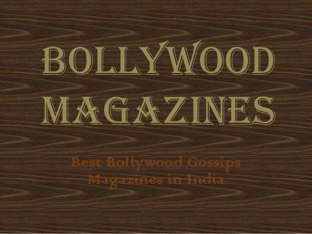 BollywoodMagazinesBest Bollywood GossipsMagazines in India