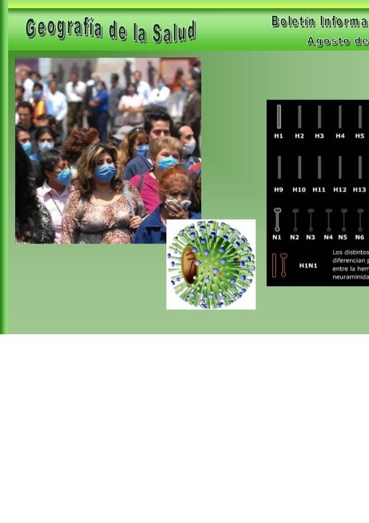 Geografía de la Salud- Boletín Informativo 10