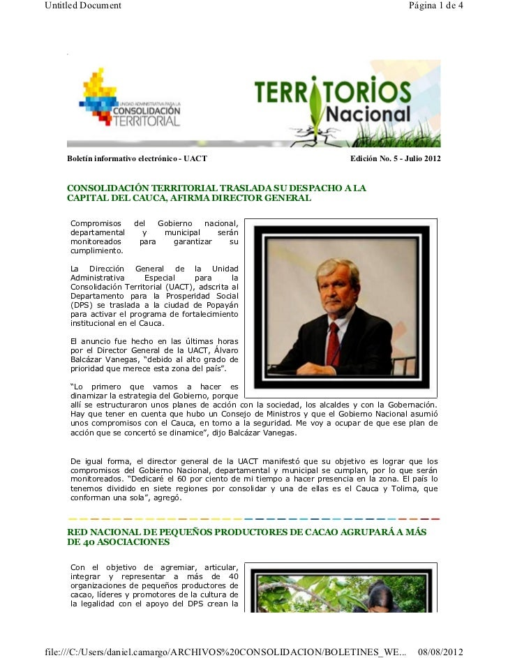 Untitled Document                                                                            Página 1 de 4    Boletín info...