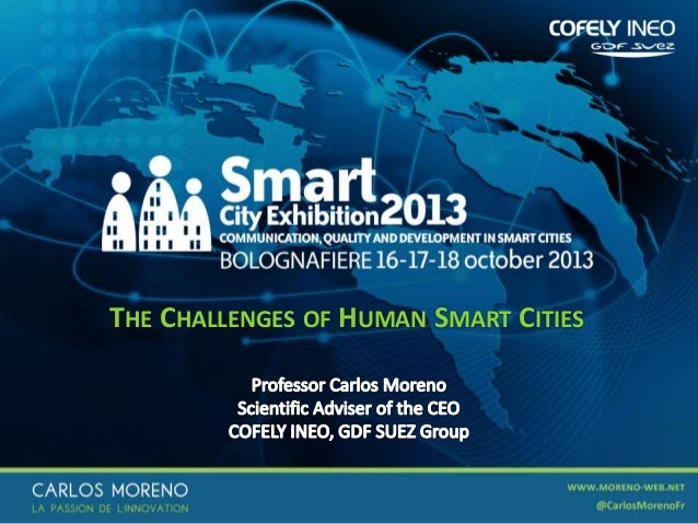 The challenges of human smart cities