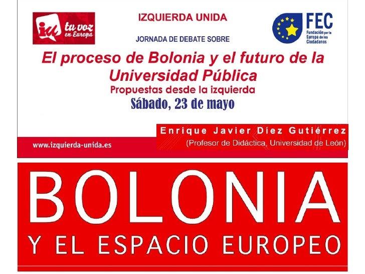 Plan Bolonia