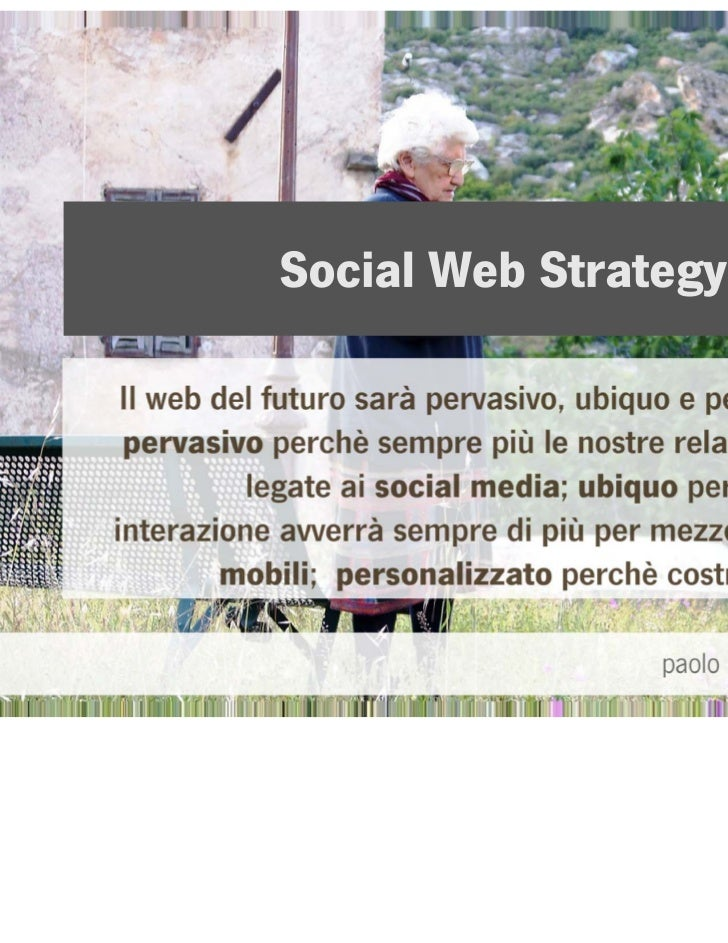 Social Strategy - Overview