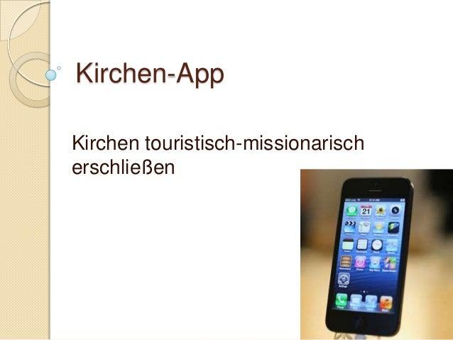 Kirchen-AppKirchen touristisch-missionarischerschließen