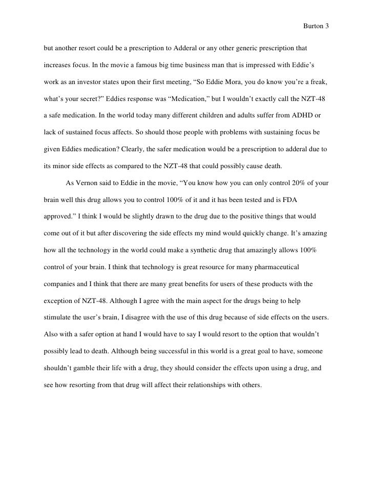 Writer's block research paper