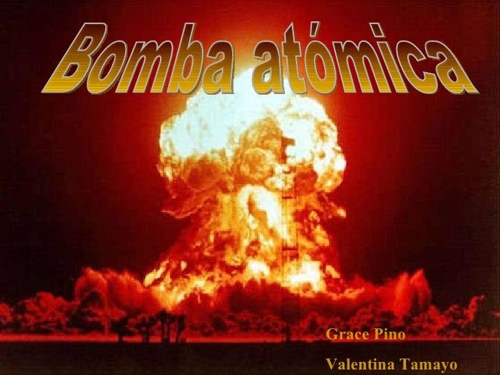 Bomba Atomica.