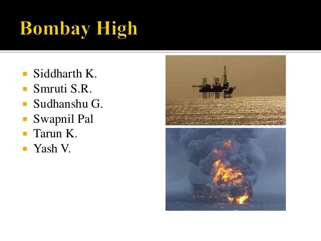 Bombay high