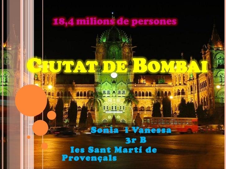 Sonia  i Vanessa 3r B Ies Sant Martí de Provençals