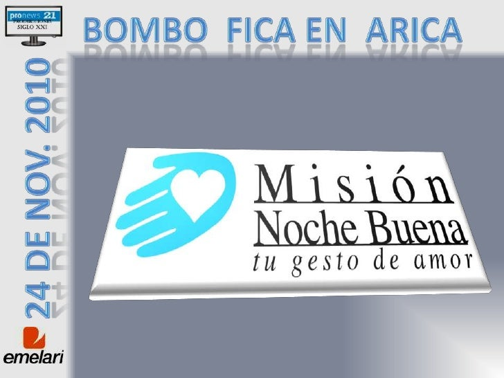 Bombo  fica en  Arica <br />24 de nov. 2010<br />