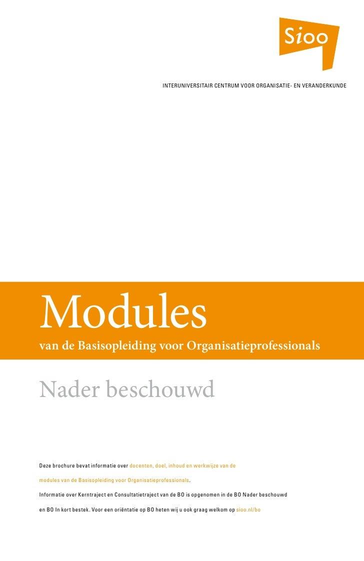 Bo modules april 2008 sioo