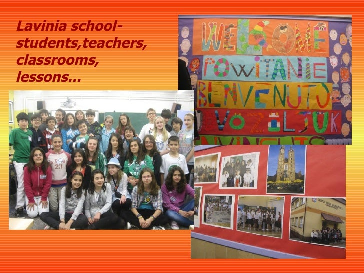 Lavinia school-students,teachers,classrooms,lessons...