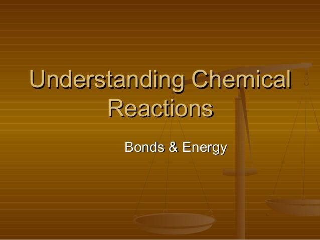 Bonds and energy