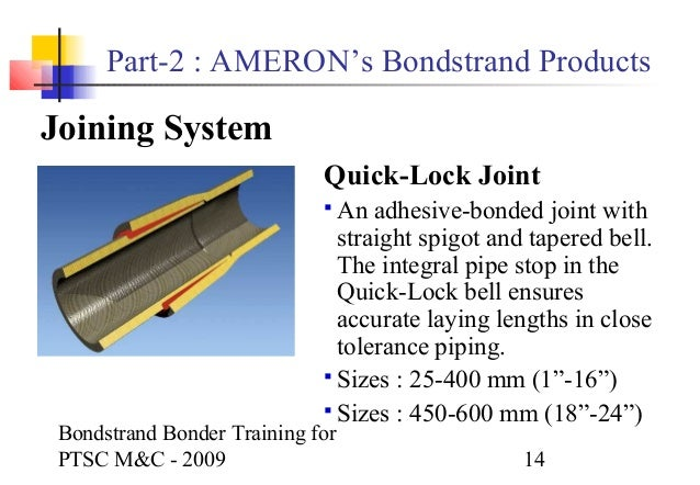 Bondstrand bonder training, rev 0 (ptsc m&c): http://www.slideshare.net/nguyenatung1/bondstrand-bonder-training-rev-0-ptsc-mc