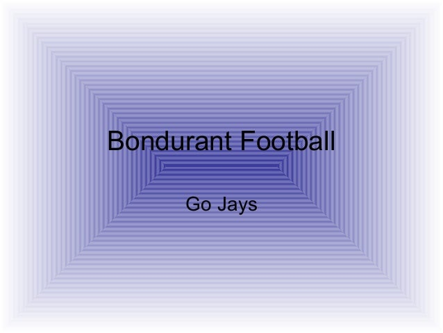 Bondurant Football Go Jays
