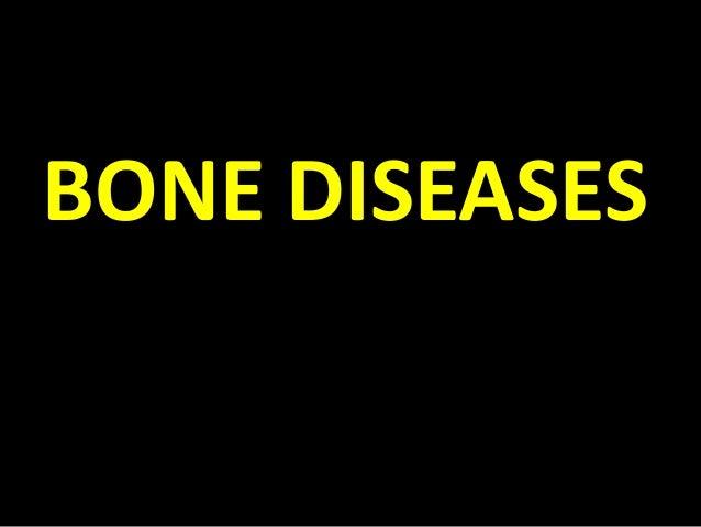 Bone diseases 2014
