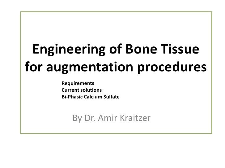 bone tissue engineering thesis