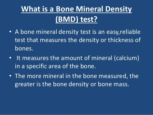 Should You Get A Bone Density Test