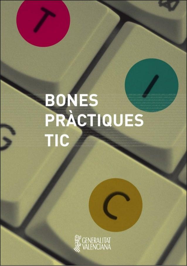 Bones pràctiques TICS. Generalitat Valenciana