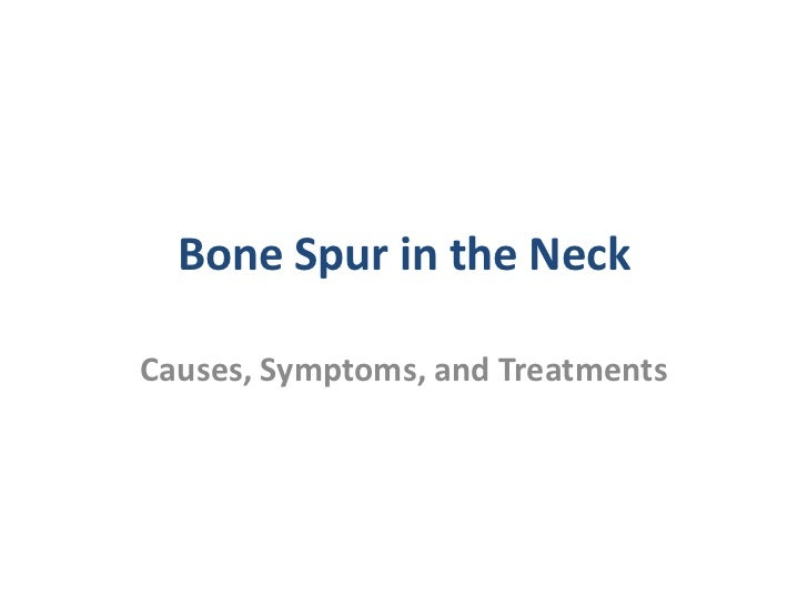 Bone Spur in the Neck – Causes, Symptoms, and Treatments