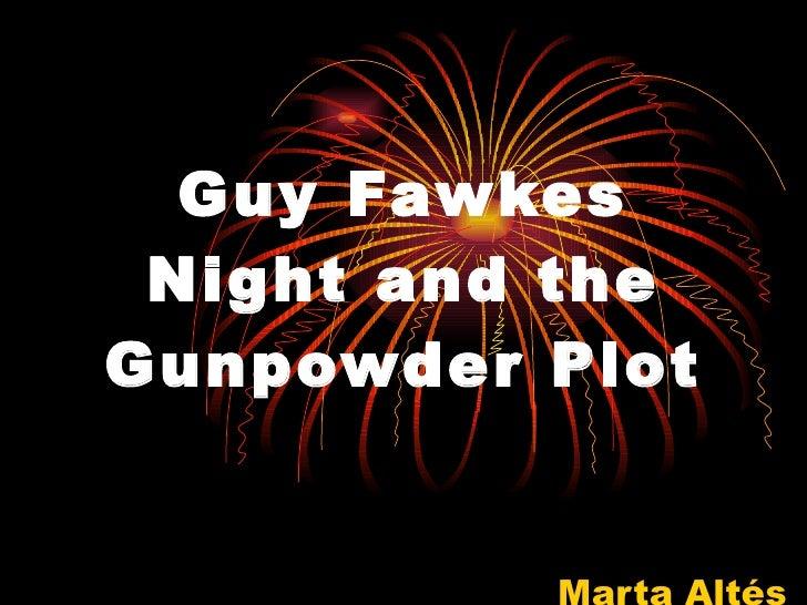 Guy Fawkes Night and the Gunpowder Plot Marta Altés