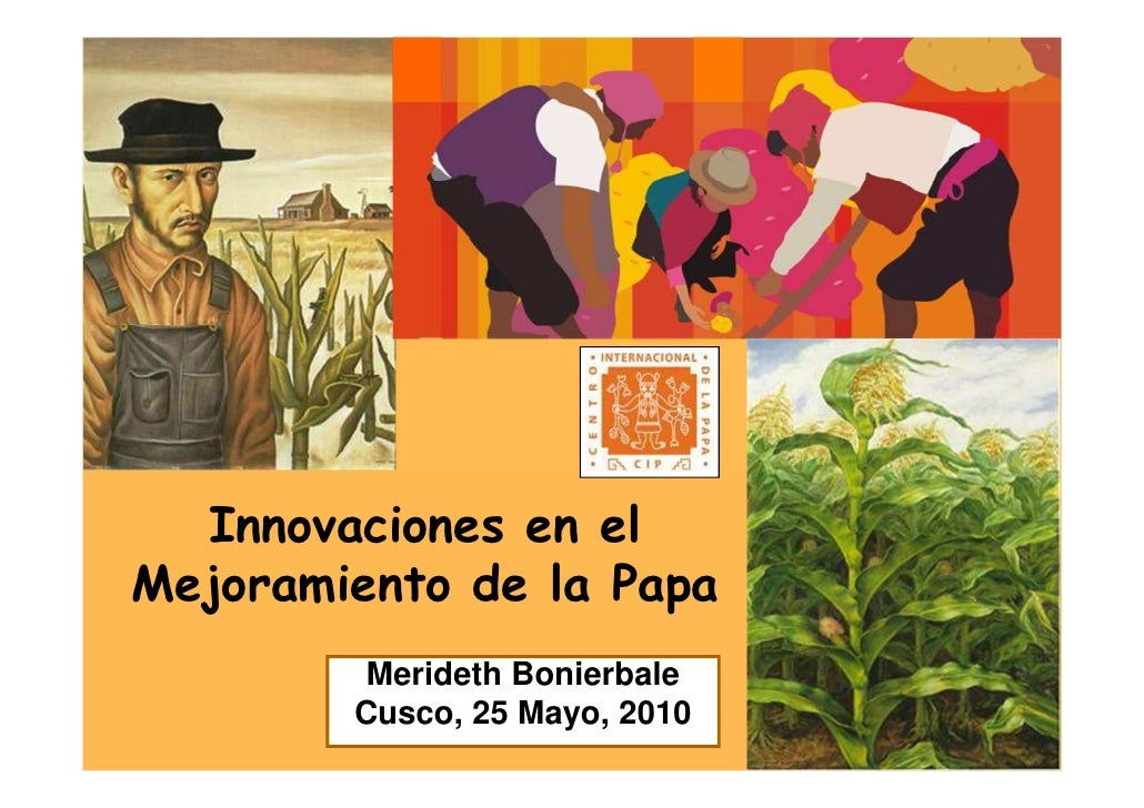 Innovaciones en el Mejoramiento de la Papa