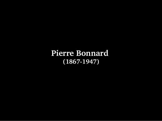 PierreBonnard (18671947)