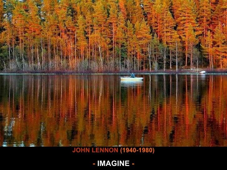 Imagine wave JOHN LENNON  (1940-1980) -  IMAGINE  -