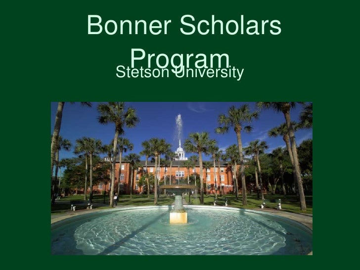 Bonner Scholars Program<br />Stetson University <br />