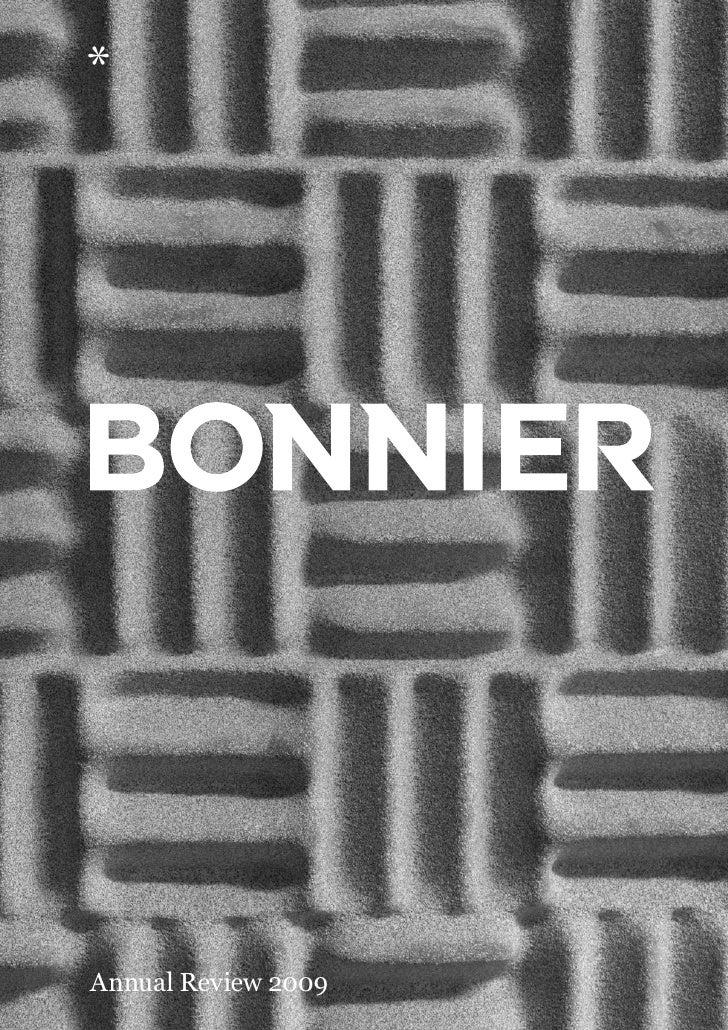 Bonnier Annual Review 2009