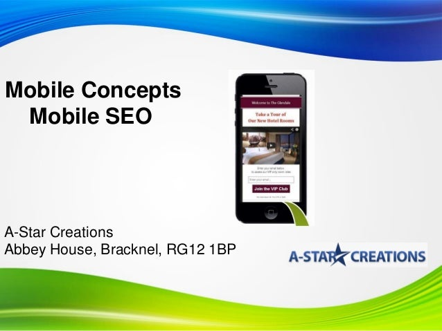 Mobile Site Optimisation and SEO for Your Business