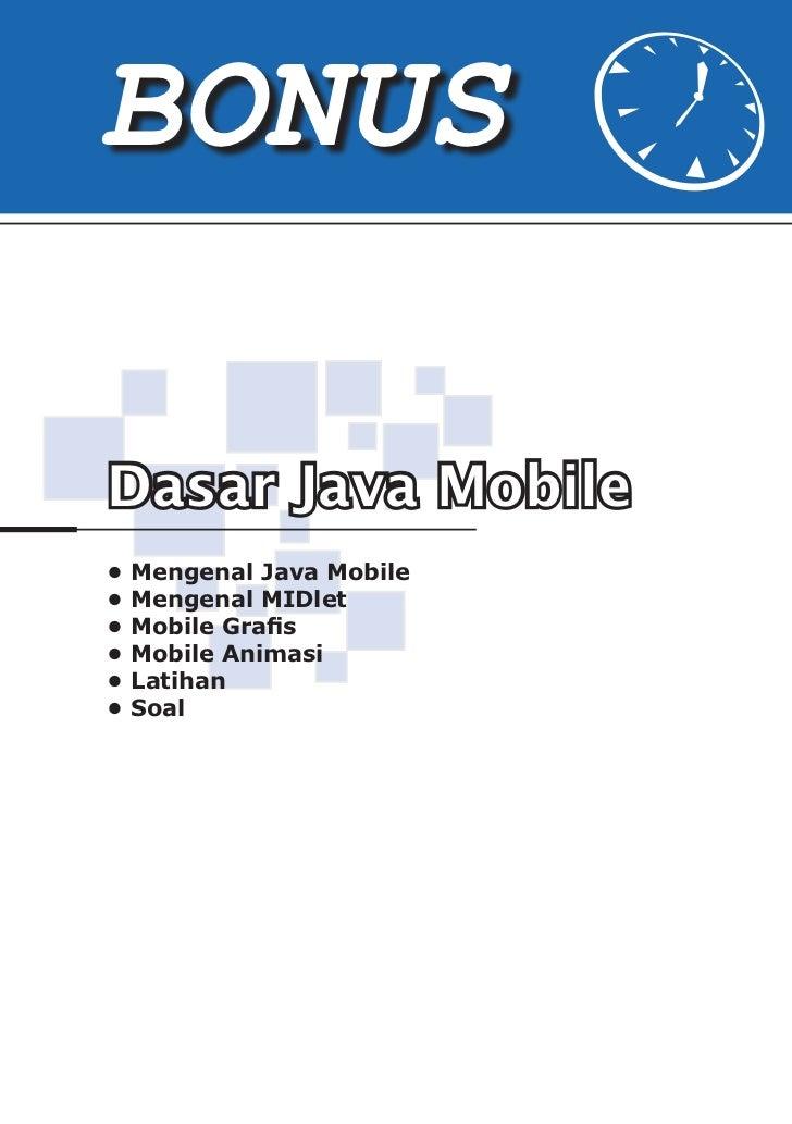 Dasar Java Mobile