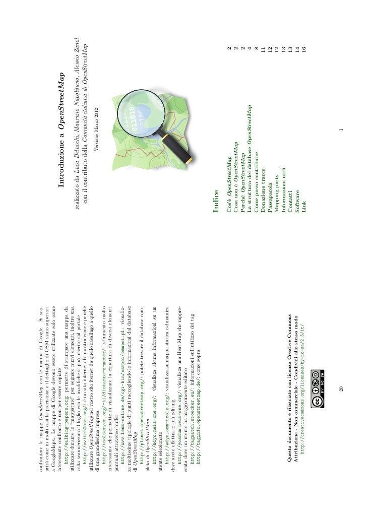 Introduzione a OpenStreetMap (book version)