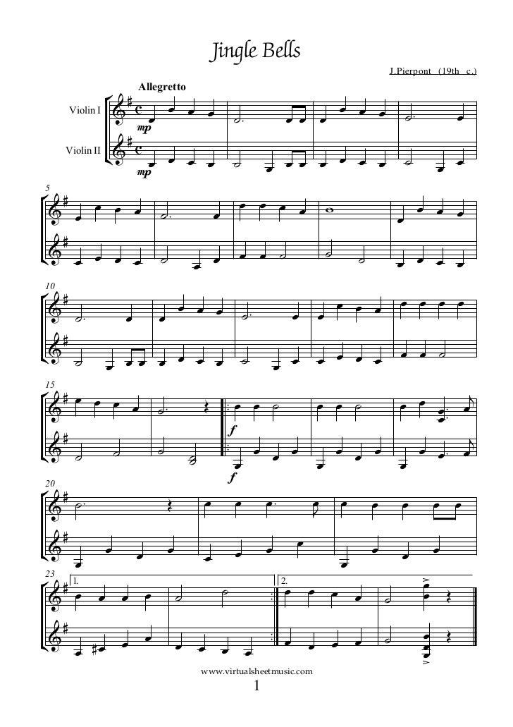Suzuki Violin Jingle Bells