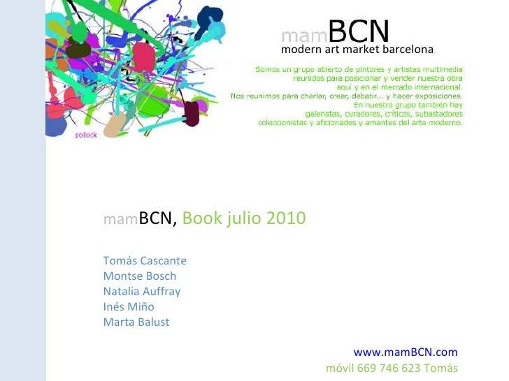 Book mam bcn-julio2010