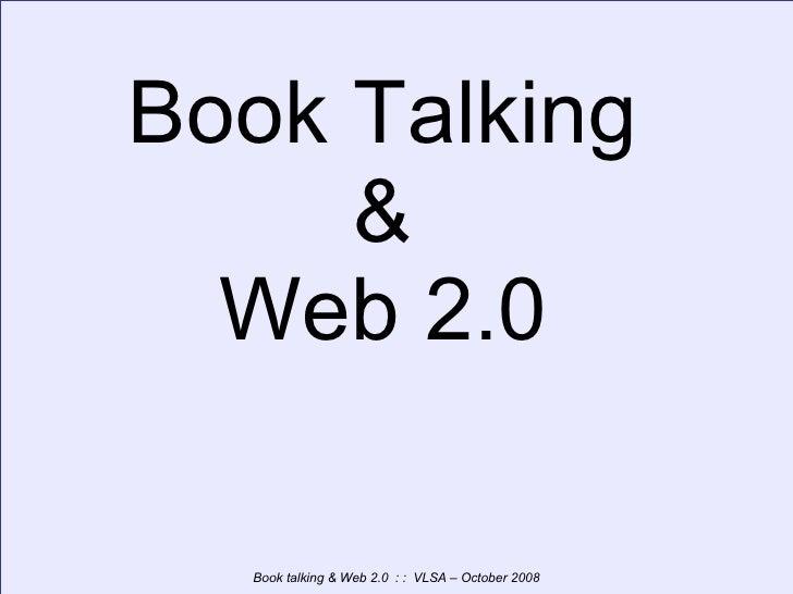 Book Talking & Web 2.0