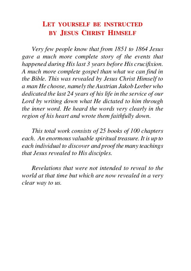 The Great Gospel of John, Book 1
