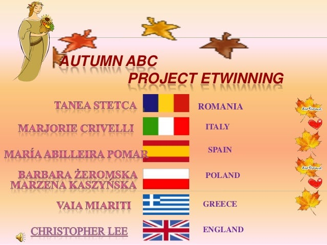 Book autumn abc