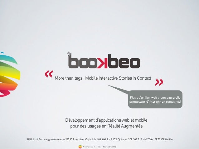 «         More than tags : Mobile Interactive Stories in Context                                                          ...