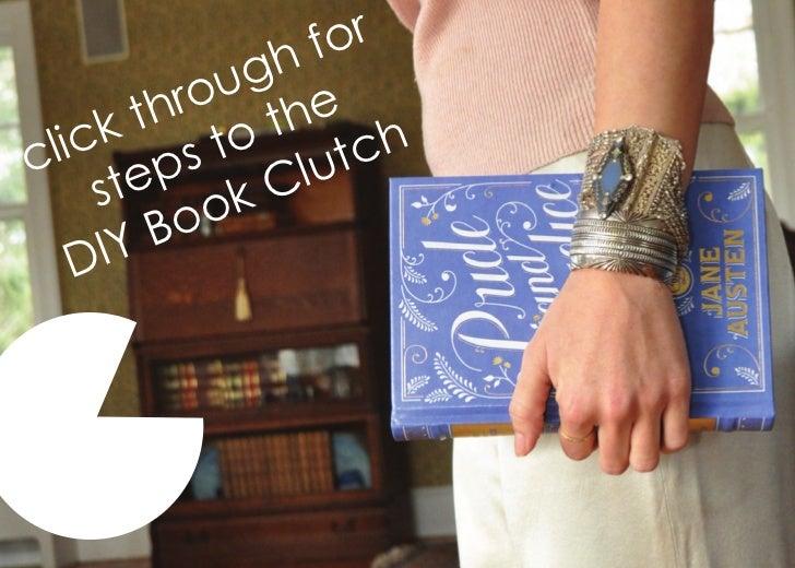 Book clutch   steps
