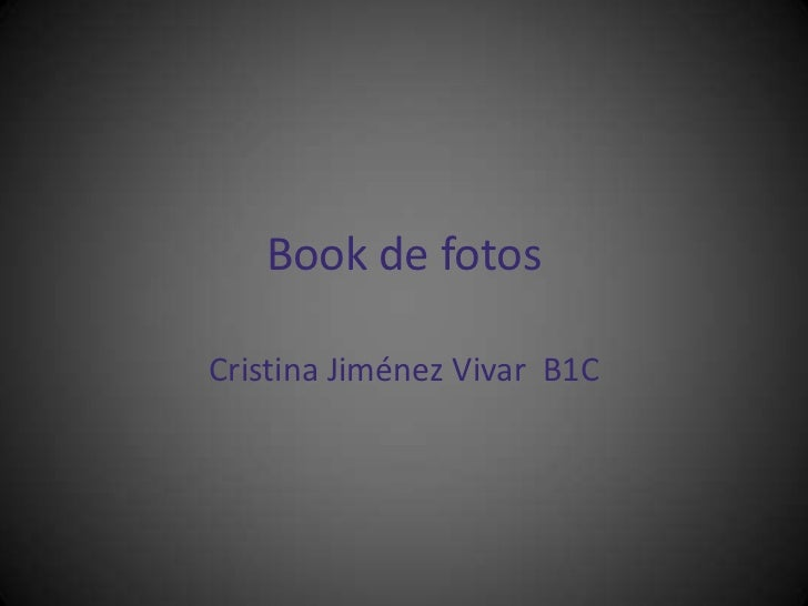 Book de fotos