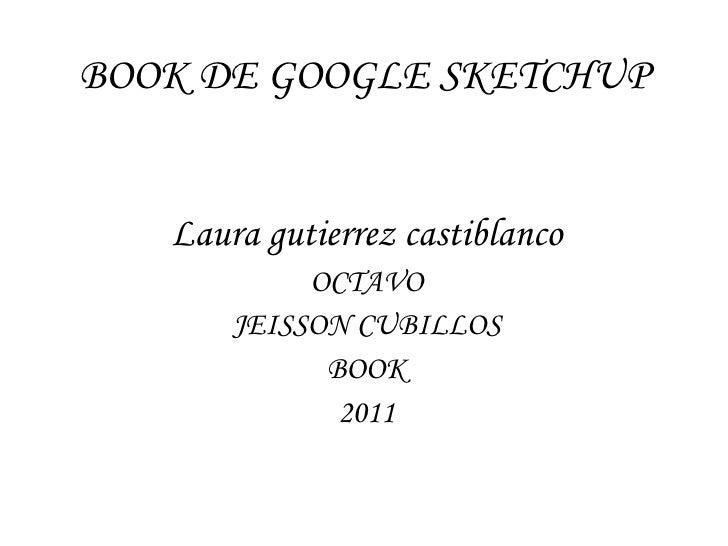 Book de google sketchup