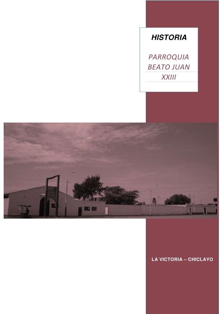 Book de la parroquia   30 abril